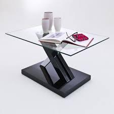 möbel wohnen corium couchtisch tisch glastisch schwarz