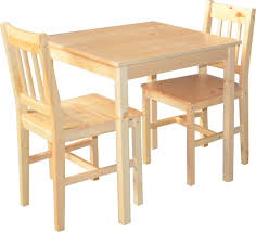 ensemble table chaises ensemble table chaises en pin naturel inspirations avec ensemble