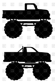 Monster Truck Car Pickup Silhouette Royalty Free Vector Clip Art ... Monster Truck Xl 15 Scale Rtr Gas Black By Losi Monster Truck Tire Clipart Panda Free Images Hight Pickup Clipart Shocking Riveting Red 35021 Illustration Dennis Holmes Designs Images The Cliparts Clip Art 56 49 Fans Jam Coloring Muddy Cute Vector Art Getty Coloring Pages Of Cars And Trucks About How To Draw A Pencil Drawing