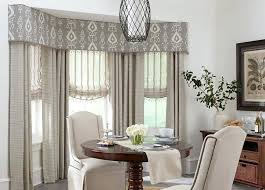 Dining Room Curtains Window Treatments Budget Blinds Custom Layered