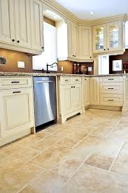 Best Floor For Kitchen by Best 25 Cream Tile Floor Ideas On Pinterest Cream Kitchen Tile