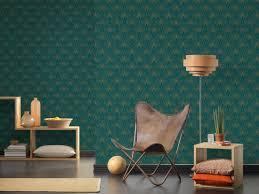 livingwalls tapete barock blau gold grün metallics 374275
