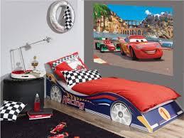 chambre garcon cars disney cars 2 décoration murale maxi poster papier peint