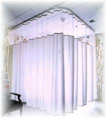 privacy cubicle curtains hospital ceiling curtain track