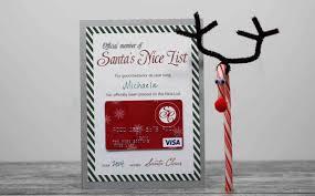Free Printable} Santa s Nice List Certificate