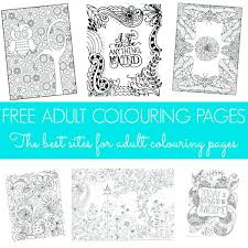 Free Printable Coloring Pages For Adults Pdf Advanced Adult