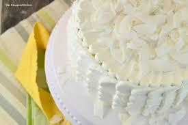kokos torte dessert mit weißer schokolade knusperstübchen