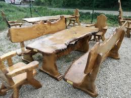esszimmertische und bänke aus massivholz mit gefertigt