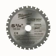 Tile Saw Blades Home Depot by Milwaukee 5 3 8 In Circular Saw Blade 48 40 4070 The Home Depot