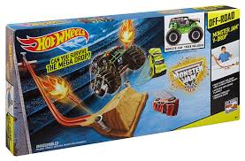 100 Monster Truck Track Set Hot Wheels Jam VDrop Amazoncouk Toys Games