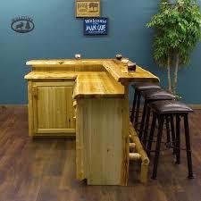 Cedar Custom Made For You Log Bar