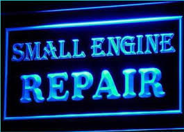 OPEN Small Engine Repair Display Neon Light Sign OPEN Small