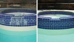 pool tile polishing tiki pool services
