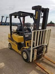 USED FORKLIFTS - MEDLEY EQUIPMENT - OK   TX   NM  2014 LP GAS YALE ... Yale Reach Truck Forklift Truck Lift Linde Toyota Warehouse 4000 Lb Yale Glc040rg Quad Mast Cushion Forkliftstlouis Item L4681 Sold March 14 Jim Kidwell Cons Glp090 Diesel Pneumatic Magnum Lift Trucks Forklift For Sale Model 11fd25pviixa Engine Type Truck 125 Contemporary Manufacture 152934 Expands Driven By Balyo Robotic Lineup Greenville Eltromech Cranes On Twitter The One Stop Shop For Lift Mod Glc050vxnvsq084 3 Stage 4400lb Capacity Erp16atf Electric Trucks Price 4045 Year Of New Thrwheel Wines Vines Used Order Picker 3000lb Capacity