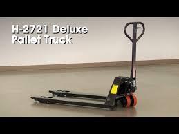 Uline Deluxe Pallet Truck