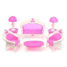 Snap Dollhouse Miniature Furniture Accessories For Barbie Bathroom