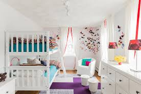 Creative Shared Bedroom Ideas For A Modern Kids Room Freshome Com Butterfly Girls Designs