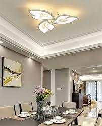 led deckenleuchte blume kreative design deckenle dimmbar innen decken beleuchtung für schlafzimmer wohnzimmer küche esszimmer weiß acryl