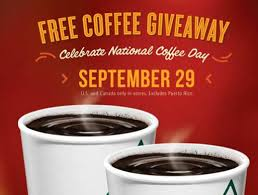 Dunkin Donuts Pumpkin Spice Latte Caffeine by National Coffee Day 2013 Freebies Krispy Kreme Dunkin Donuts