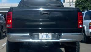 This May Be The Best License Plate I've Ever Seen On A Truck : Funny