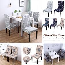 Details About 1/2pc New Elastic Dining Chair Covers Slipcovers Chair  Protective Cover Kitchen Chair Covers Spandex Stretch Polyester Protective Slipcover Case Anti Dirty Elastic Ding Home Decoration Cheap Room 1pcs Stretchable Seat Protector Slipcovers For Holiday Banquet Party Hotel Wedding Knit Jacquard Cover Short Pink Us 433 30 Offclassic Tropical Bohemia Style Prting Geometric For Banquetin Details About 1 Universal Decor Likable Good Quality Top Best Roll Red Splash Coversspandex Hona Wx880 Elegant 124pcs Removable Lovely
