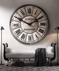 This RH Oversized Clock