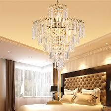 luxus kristall hängeleuchte für schlafzimmer