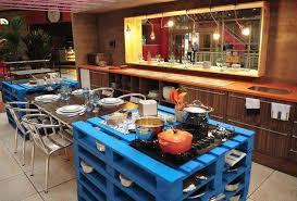 ilot cuisine palette izi designing îlot de cuisine en palette