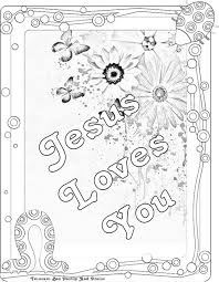 Free Images Coloring Jesus Loves Me Printable Pages In The Little Children