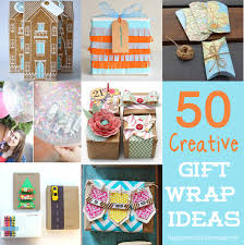 Easy Birthday Present Ideas 50 Unique Creative Ways To Wrap A Gift Happiness Is Homemade Template
