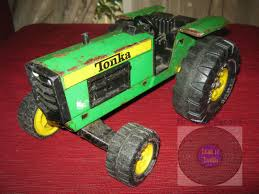 Green Vintage TONKA Tractor, 1970's Collectable Tonka Truck In Toys ...