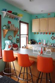 Jamies Wild Blue Yonder House Tour Colorful HousesColorful DecorColorful Kitchen