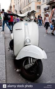 Vespa Motor Scooter Piaggio Old Motorcycle Rome Italy