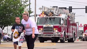 Fire Truck And Emergency Vehicles In Parade 4k Stock Video Footage ...