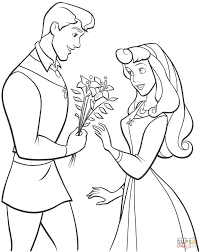 Click The Phillip And Aurora Coloring Pages To View Printable