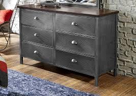 6 Drawer Dresser Black by Hillsdale Furniture Urban Quarters 6 Drawer Youth Dresser In Black