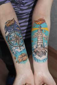 101 Bright Shining Lighthouse Tattoo Design Ideas