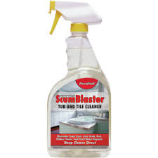 forcefield scumblaster tub tile and grout cleaner 32 ounce
