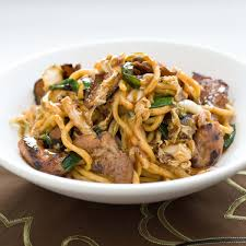 Pork StirFry With Noodles Lo Mein Cooks Illustrated