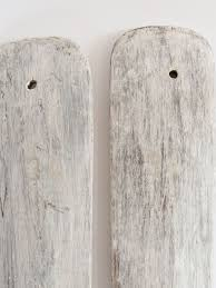 Decorative Wooden Oars And Paddles by Pair Vintage Paddle Oars With A Pale Grey White Wash Finish