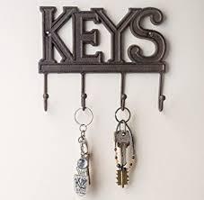 amazon com key holder keys wall mounted key hook rustic