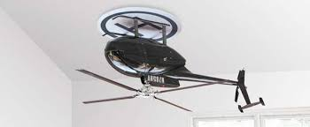 topsy turvy helicopter propellers upside down ceiling fan by