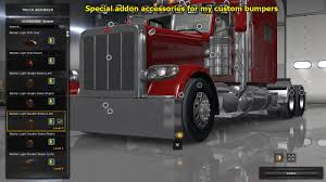 Peterbilt 389 Accessories Pack • ATS Mods | American Truck Simulator ... Semi Truck 142 Full Fender Boss Style Stainless Steel Raneys American Simulator Peterbilt 379 Exhd More New Accsories Introduces Special Edition Model 389 News 124 377 Ae Ucktrailersaccsories 1 Vs John Deere Diesel Power Magazine Bumpers Including Freightliner Volvo Kenworth Kw Peterbilt Sunvisor Tsunp25 Parts And Fibertech Fiberglass Products 2001 Stock 806187 Hood Tpi 579 Edit Mod For Ats 365 367 Exterior