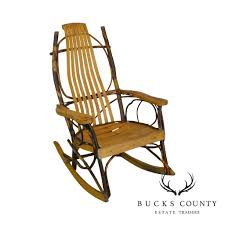 Hickory & Bent Twig Wood Vintage Rocker Rocking Chair – Bucks County ... Childs Antique 1800s Eastlake Rocker Rocking Chair Childrens Antique American Queen Anne Chair Mid18th Century In Maple Back Queen Anne Splat W Cream Seat Loveseat Fniture Detective Glider Rocker With 1888 Patent Is Valued At Crished Poessions Very Fine Walnut Balloonseat Wing Massachusetts Edwardian Country Kitchen Windsor Elbow Coinental Chairs Cowans Auction House The Midwests Vintage Bentwood 10791 La77922 Loveantiquescom Cane Georgian Antiques World Style Wing Frame Feb 16 2019 Copake