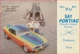 Gay Pontiac 1968 Firebird Funny Car-