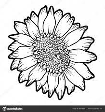 Coloriage Tournesol 017 à Imprimer Pour Les Enfants Dessin Fleur