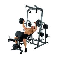 Costway Goplus Adjustable Weight Bench Strength Workout Dumbbell
