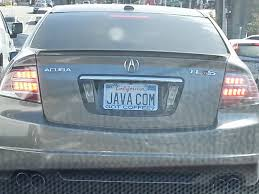 Fountainhead ly in Silicon Valley License Plate Sightings in