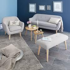 sitzbank egedal gepolstert grau beige wohnzimmer