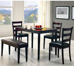 Taraval 5 Piece Dining Set With Bench By Coaster Furniture | Sylvan ... Coaster Company Brown Weathered Wood Ding Chair 212303471 Ebay Fniture Addison White Table Set In Los Cherry W6 Chairs Upscale Consignment Modern Gray Chair 2 Pcs Sundance By 108633 90 Off Windsor Rj Intertional Pines 9 Piece Counter Height Home Furnishings Of Ls Cocoa Boyer Blackcherry Side Dallas Tx Room Black Casual Style Fine Brnan 5 Value City 100773 A W Redwood Falls